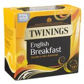 Twinings Tea Bags - 100's English Breakfast (4x100's)