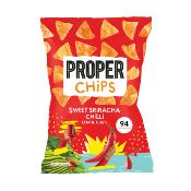 PROPERCHIPS - GF Sweet Sriracha Chilli Lentil Chips (8x85g)