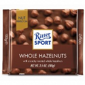 Ritter Sport - Milk Whole Hazelnuts (10x100g)