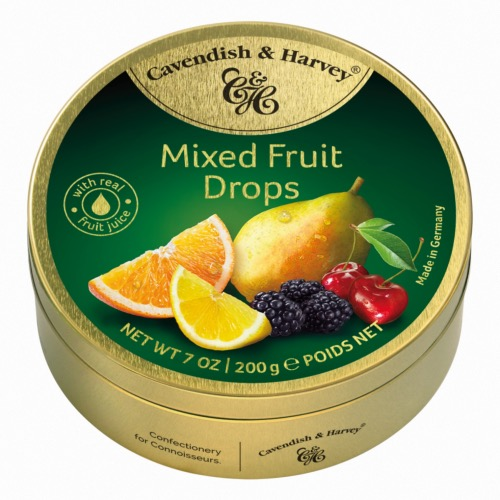 Cav. & Harvey - Mixed Fruit Drops (9x200g)