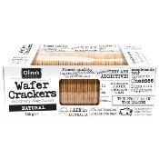Olina's Bakehouse - Wafer Crackers 'Natural' (12x100g)