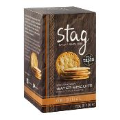 Stag - 'Original' Water Biscuits (12x150g)