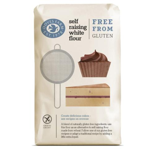 Doves Farm - GF Self Raising White Flour (5x1kg)
