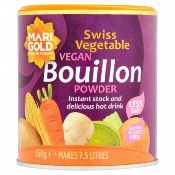 Marigold - GF Swiss Veg Bouillon 'Reduced Salt' (6x140g)