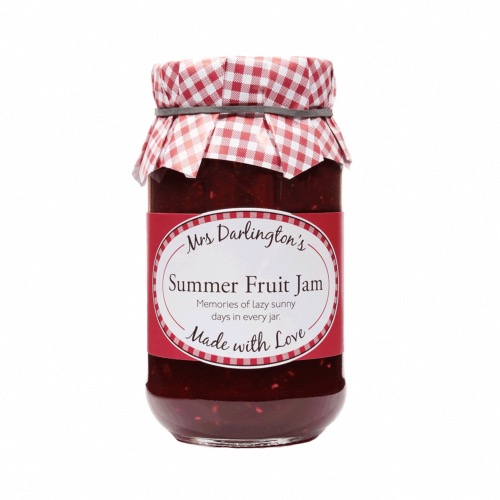 Mrs Darlington - Summer Fruit Jam (6x340g)