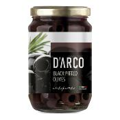 D'ARCO - Pitted Black 'Leccino' Olives (6x300g)