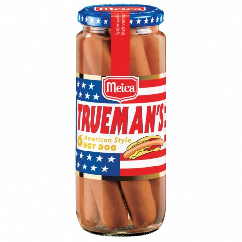 Meica - Trueman's American Style Hot Dogs (12x540g)