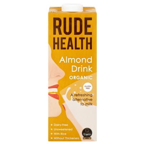 Rude Health - Organic Almond Drink (6x1ltr)