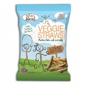 Eat Real GF - SMALL KIDS Veggie Straws (24x20g)