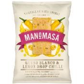 Manomasa Tortillas GF - Queso Blanco,Lemon Drop Chili 12x160