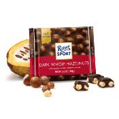 Ritter Sport - Dark Whole Hazelnuts (10x100g)