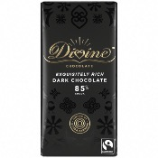 Divine - 85% Dark Chocolate (15x90g)
