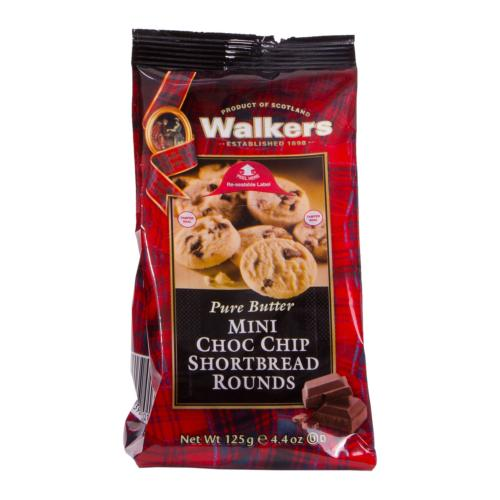 Walkers - Mini Choc Chip S'bread Rounds 'Grab Bag' (12x125g)