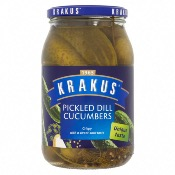 Krakus - Dill Pickled Cucumbers (12x670g)