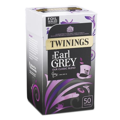 Twinings Tea Bags - 'Earl Grey' (4x50's)