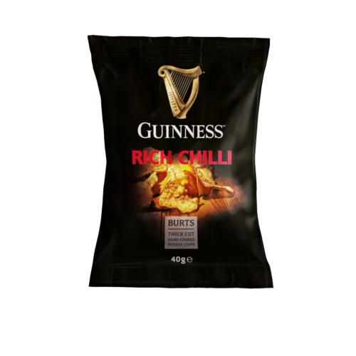 Guinness Small - Rich Chilli Potato Chips (20x40g)