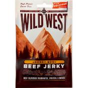 Wild West - GF Beef JERKY 'Honey BBQ' Clipstrip (12x35g)