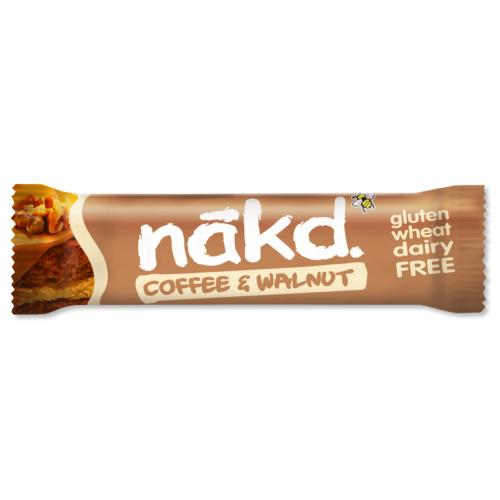 Nakd - GF Bars 'Coffee & Walnut' (18x35g)