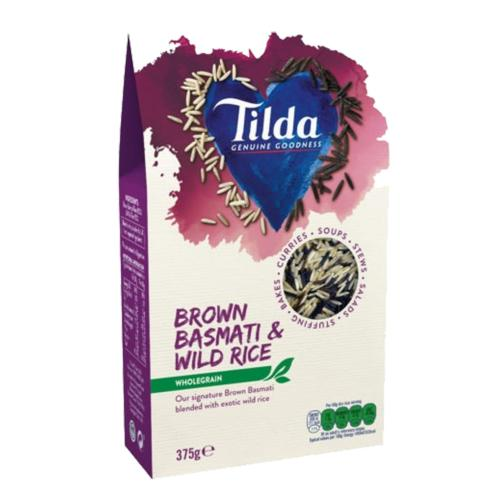 Tilda - Brown Basmati & Wild Rice (7x375g)