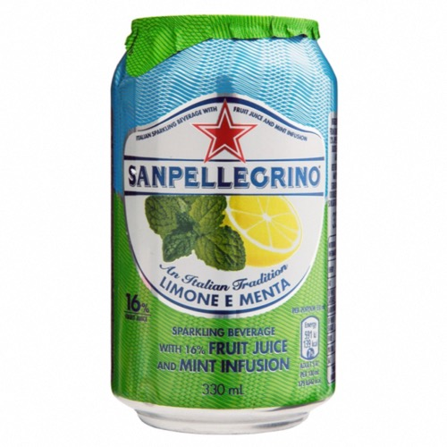 San Pellegrino - Sparkling Lemon & Mint (24x330ml)