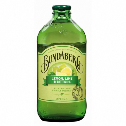 *Bundaberg - Lemon & Lime Bitters (12x375ml)
