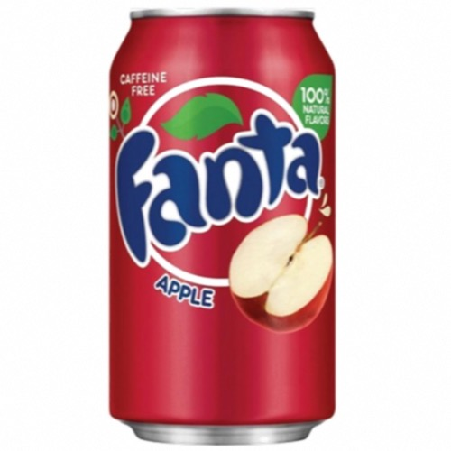 Fanta U.S. - Apple Soda (24x355ml)