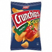 Lorenz - Crunchips X-Cut Paprika (10x150g)