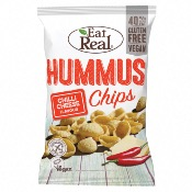 Eat Real GF - Hummus Chips Chilli Cheese (10x135g)