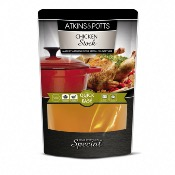 Atkins & Potts - GF Chicken Stock (6x350g)