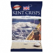 Kent Crisps GF Large - Sea Salt (10x150g)