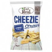 Eat Real GF - Cheezie Straws (10x113g)