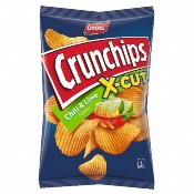 Lorenz - Crunchips X-Cut Chilli & Lime (10x150g)