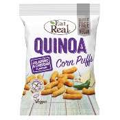 Eat Real GF - Quinoa Puffs Jalapeno & Cheddar (12x113g)