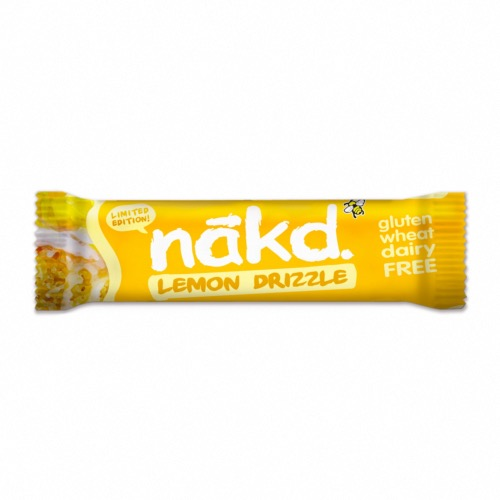 Nakd - GF Bars 'Lemon Drizzle' (18x35g)