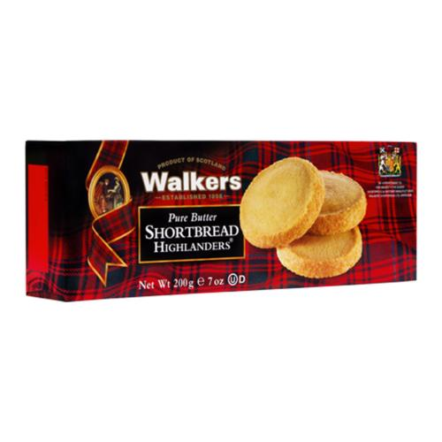Walkers - Shortbread Highlanders 'Boxed' (12x200g)
