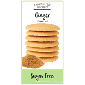 Farmhouse Sugar Free - Ginger Cookies (12x150g)