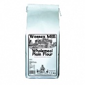 Wessex Mill Flour - Wholemeal Plain Flour (5x1.5kg)