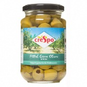 Crespo - Pitted Green Olives (8x354g)