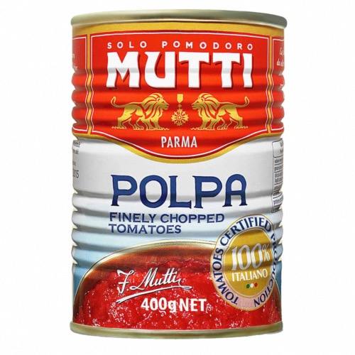 Mutti - Finely Chopped Tomatoes (12x400g)