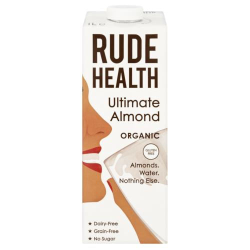 Rude Health - Organic Ultimate Almond (6x1ltr)