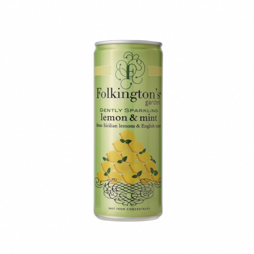 Folkington's Garden - Lemon & Mint (12x250ml)
