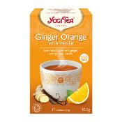 Yogi Tea - Organic Ginger Orange with Vanilla (6x17's)