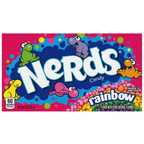 NERDS - Rainbow 'Theatre Box' (12x141g)