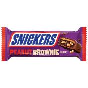 Snickers - Peanut BROWNIE Squares (24x34g)