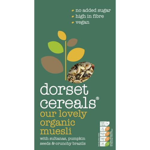Dorset Cereals Muesli - Our Lovely Organic (5x600g)