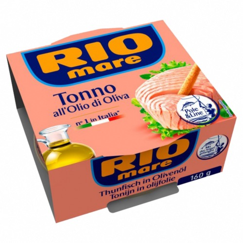 Rio Mare - Tuna in Olive Oil (12x160g)