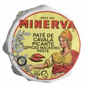 Minerva - Spiced Mackerel Pate (24x75g)