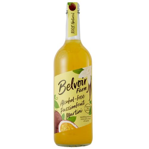 Belvoir Farm - Passionfruit Martini 'Alcohol Free' (6x75cl)