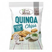 Eat Real GF - SMALL Quinoa Chips Sour Cream & Chive (12x30g)