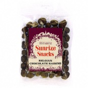 Sunrize Snacks Belgian Chocolate Raisins (12x150g)